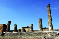 Pompeii, Italy Ruins Royalty Free Stock Photo
