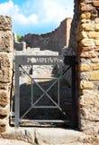 Pompeii, Italy. Royalty Free Stock Photos