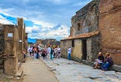 Pompeii, Italy Royalty Free Stock Photo