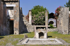 Pompeii, Italy Royalty Free Stock Photo