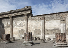 Pompeii law court Stock Photos