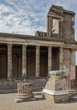 Pompeii law court Stock Images