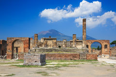 Pompeii Naples Italien Royaltyfri Bild