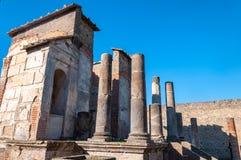 Pompeii, o melhor local arqueol?gico preservado no mundo, It?lia fotos de stock