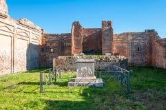 Pompeii, o melhor local arqueol?gico preservado no mundo, It?lia imagens de stock royalty free