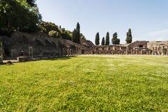 Pompeii Palestra Stock Images