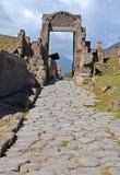 Pompeii Porta di Nocera Stock Photo