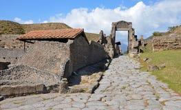 Pompeii Porta di Nocera Stock Photos
