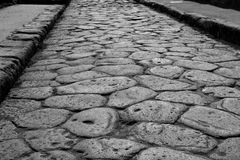 Pompeii Road Royalty Free Stock Photos