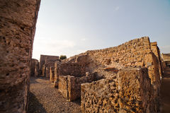 Pompeii ruins. Royalty Free Stock Images