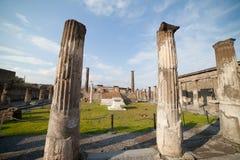 Pompeii ruins. Royalty Free Stock Image