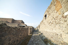 Pompeii ruins. Stock Photography