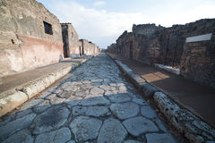 Pompeii ruins. Stock Photography