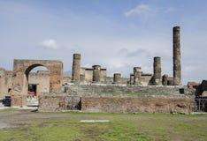 Pompeii ruins Royalty Free Stock Photo