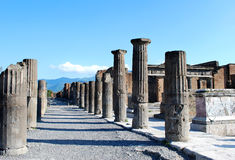 Pompeii Ruins Stock Photos