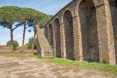 Pompeii ruins amphitheater  - Italy Stock Photography