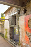 Pompeii ruins amphitheater  - Italy Royalty Free Stock Photo