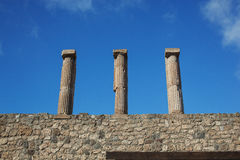 Pompeii ruins. Ancient pompeii ruins in high resolution Stock Photography