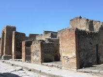Pompeii ruins Stock Photography