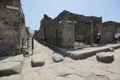Pompeii ruins, Italy Royalty Free Stock Images