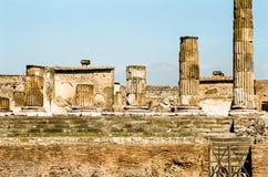 Pompeii ruins, Italy Stock Image