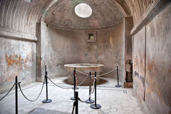 Pompeii. Sauna Stock Photography