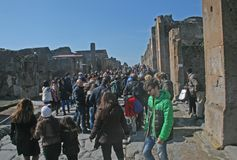 Pompeii serré images stock