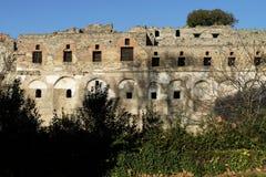 pompeii sikt Arkivbild