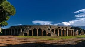 Pompeii stadium Stock Image