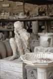 Pompeii Stone Boy Stock Images