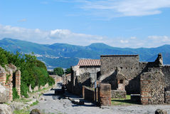Pompeii Street Stock Photography