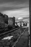 Pompeii Street Royalty Free Stock Photography