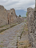 Pompeii street Stock Photos