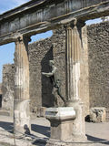 Pompeii Temple Royalty Free Stock Photos