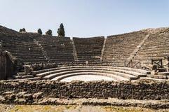 Pompeii Theater Royalty Free Stock Photos