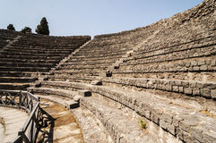 Pompeii Theater Royalty Free Stock Images