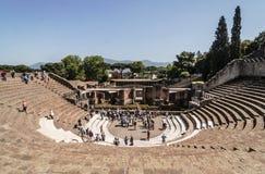 Pompeii Theater Stock Images