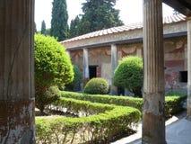 Pompeii. Venus garden in Pompei near Napoli Stock Photography