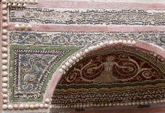Pompeii villa detail Royalty Free Stock Image
