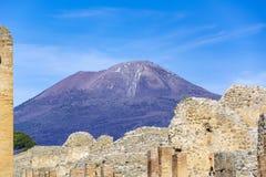 Pompeii, ville romaine antique en Italie photo stock