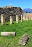 Pompeii, Włochy: antyczny Romański miasto obraz stock