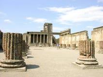 POMPEII WŁOCHY, MAJ, - 05, 2006: Sławne antykwarskie ruiny Pompeii, Obrazy Royalty Free