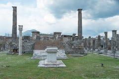 Pompeii Włochy Fotografia Stock