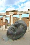Pompeii, Włochy: Mitoraj statua Obrazy Royalty Free