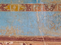 Pompeii wall texture Royalty Free Stock Image