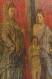 Pompeje fresk Obrazy Royalty Free