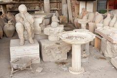 Pompeji Stockfotos