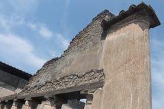 pompeji stockfotografie
