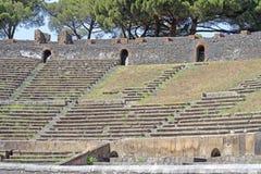 Pompeji-Amphitheater lizenzfreies stockbild