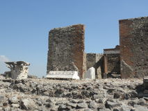 Pompeji-Aushöhlung Stockbild